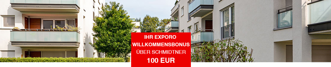 Crowdinvesting in Immobilien mit Exporo
